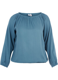Off-shoulder blus