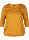 Blouse with 3/4 length sleeves