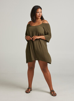 Off-Shoulder-Tunika